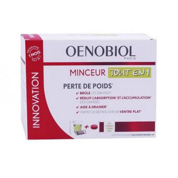 Oenobiol Minceur Tout en 1 30 sticks + 60 comprimés